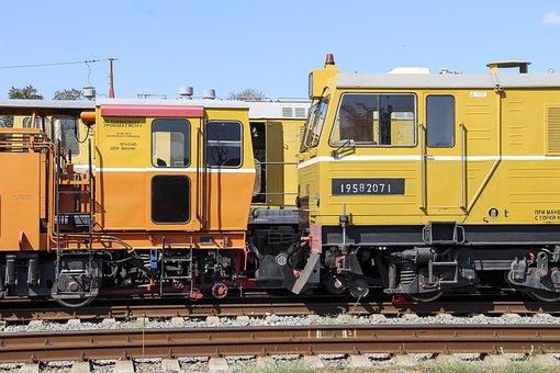 Railway Transport, Technique, Railway, Train, Transport