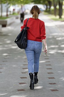 Girl, Young, Woman, Person, Sexy, Fashion, Jeans