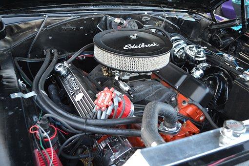 Motor, Air, Cleaner, Carburetor, Race, Car, Engine