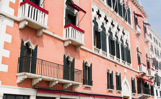 Venice, Italy, House, Architecture, Channel, City