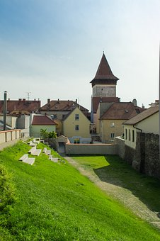 Znojmo, City, Park, Wolf, Tower, Moravia, Architecture