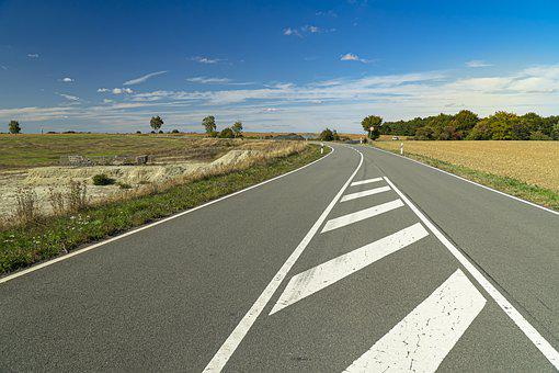 Road, Autumn, Asphalt, Landscape, Traffic