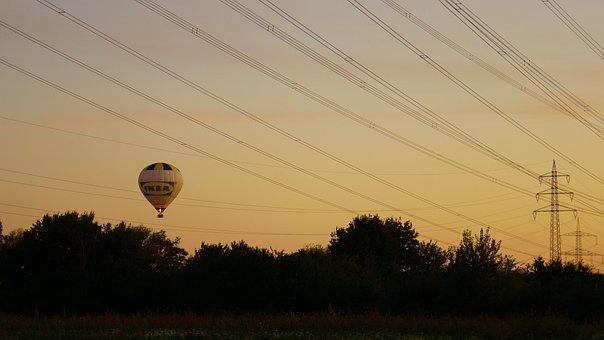 Hot Air Balloon, Aviation, Beauty, Flying, Sky