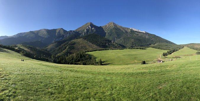 Belianske Tatras, Mountains, Landscape, Nature, Tatry