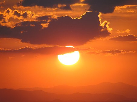 Cloud, Sun, Landscape, Sky, Beautiful, Horizon