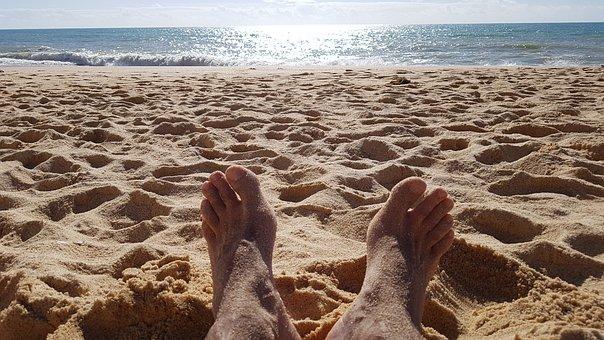Beach, Foot, Sun, Summer, Nature, Sand, Feet, Travel