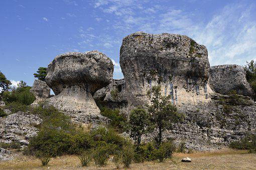 Rocks, Geology, Landscape, Nature, Alleys Of Majadas