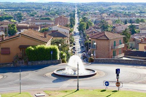 Fontana, Castiglione Del Lago, Umbria, Houses, Italy