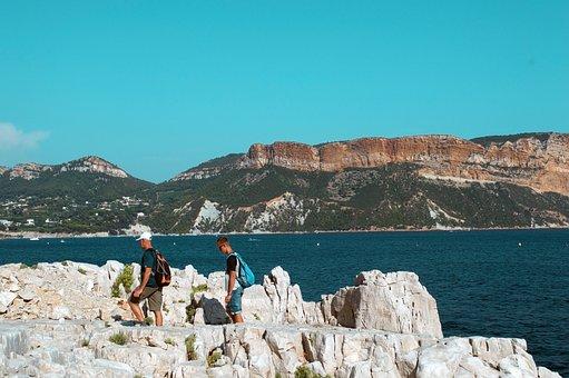 Cove, Marseille, Sea, Mediterranean, Landscape, Side
