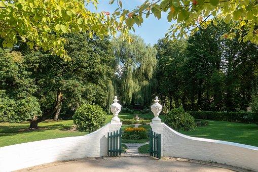 Garden, Park, Summer, Landscape, Input, Trees, Rural