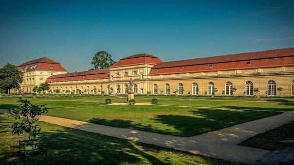 Castle, Schlossgarten, Architecture, Park, Germany