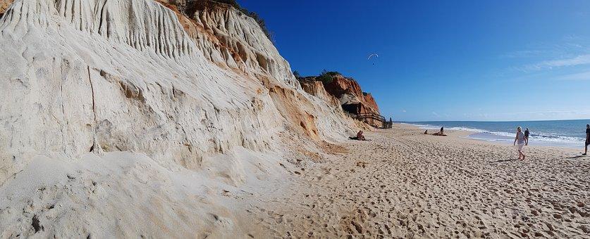 Beach, Portugal, Algarve, Sea, Sky, Coast, Nature