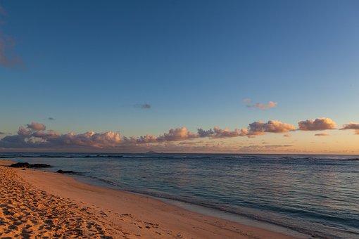 Mauritius, Coastline, Sea View, Volcanic Coast