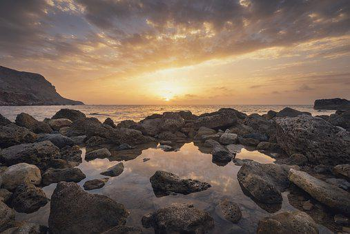 Sea, Water, Nature, Sunset, Landscape, Holidays, Relax