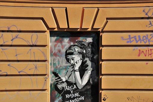 Façades, Grafitii, Walls, Building, Facade, The Wall