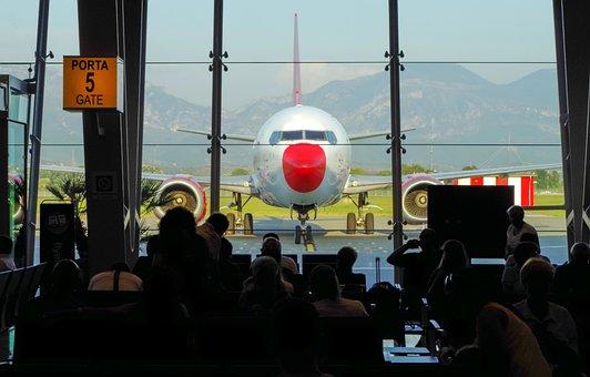 Airport, Travel, Tirana, Aircraft, Travellers, Aviation