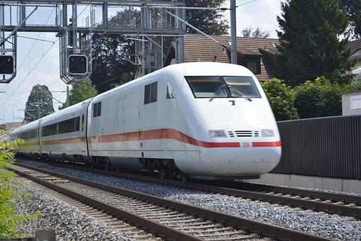 Train, Trains, Db, Railway, Transport, Transportation