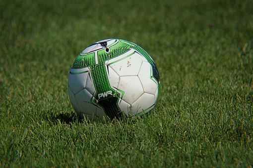 Ball, Puma, Football, Green, Grass, Course