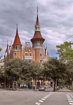 Casa De Les Punxes, House With Spikes, Barcelona