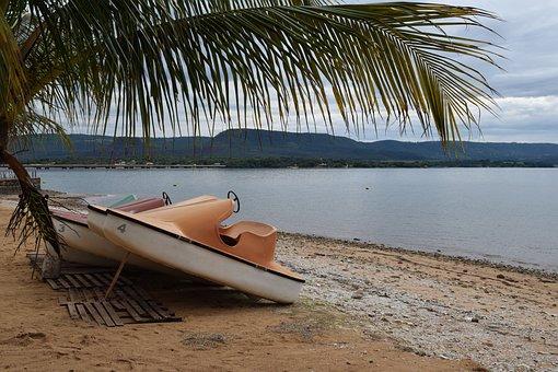 Beach, Lake, Landscape, Water, Summer, Holidays