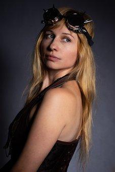 Portrait, View, Girl, Blonde, Blonde Hair, Russian