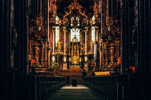 Church, Altar, Dom, Cathedral, Chapel, Faith, Building