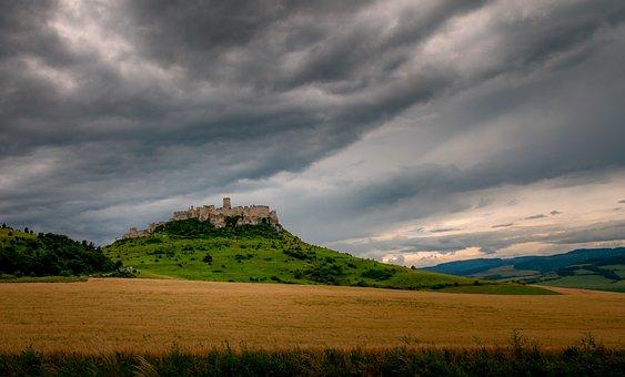 Zips, Spis Castle, Castle, Slovakia, Scenery, Travel