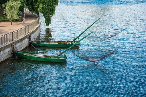 Fishing Boat, Boats, Fishing, Water, Fisherman