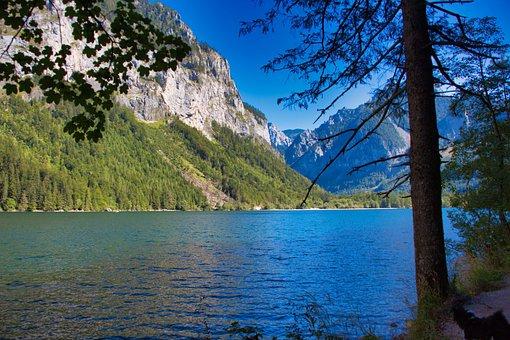 Leopold Steinersee, Lake, Landscape, Styria, Austria