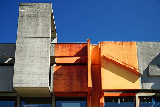 Architecture, Modern, Angle, Building, Facade