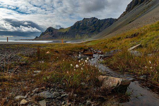 Landscape, Nature, Stone, Rock, Iceland, Coast, Sea