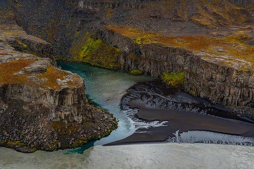 Landscape, Nature, Stone, Rock, Iceland, Coast, Plant