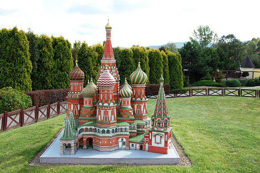 Miniature, Park, Architecture, Orthodox Church, Inwałd