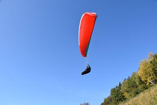 Paragliding, Paraglider, Free Flight, Fly