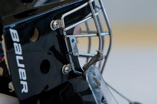 Ice Hockey, Helm, Sport, Team, Goalkeeper, Puck, Mask