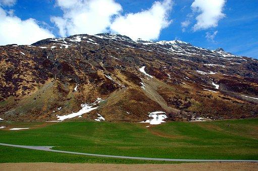 Snow, Mountains, Landscape, Alpine, Winter, Nature