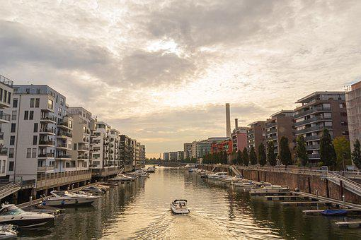 Building, Boat, City, River, Water, Canal, Architecture