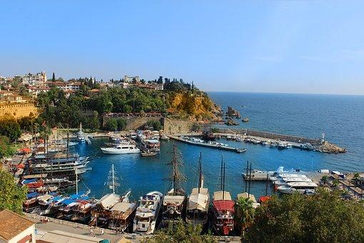Boat, Port, Sea, Day, Turkey, Marine, Roche, Pics