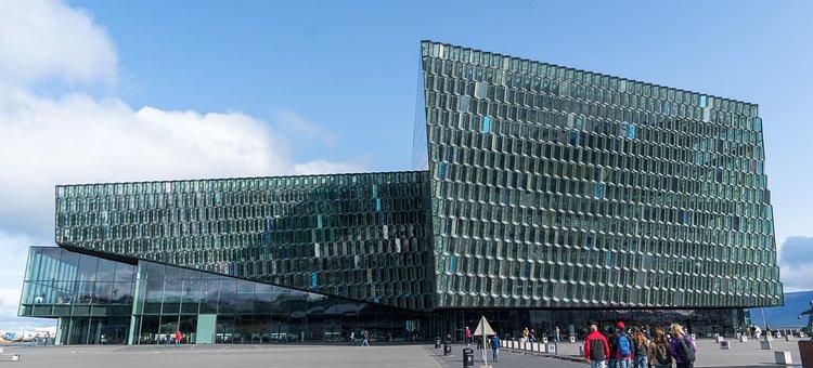 Harpa, Iceland, Reykjavik, Architecture, Building