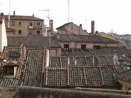 Roofs, Spain, City, Building, Historic Center, Travel