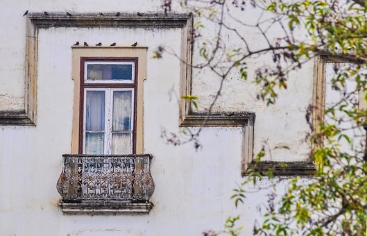 Window, Old, Vintage, Weathered, Building, Wall, Light
