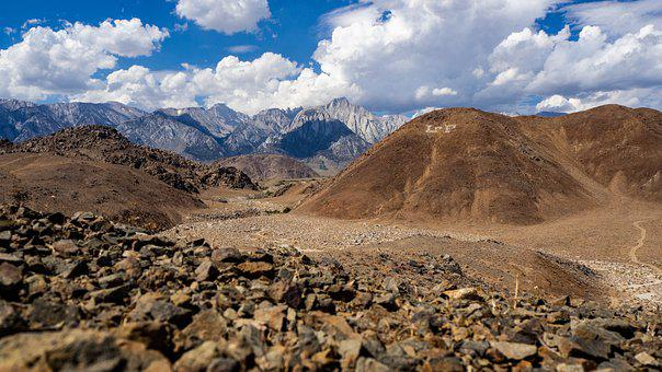 Mount Whitney, California, Lone Pine, Owens Valley, Usa