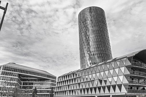 Building, City, Tower, Architecture, Skyscraper, Urban