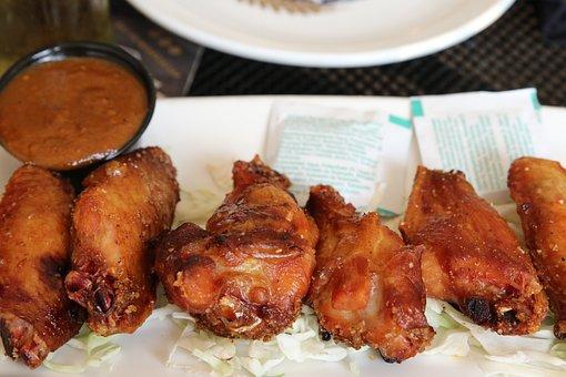Food, Chicken Wings, Chicken, Restaurant, Delicious