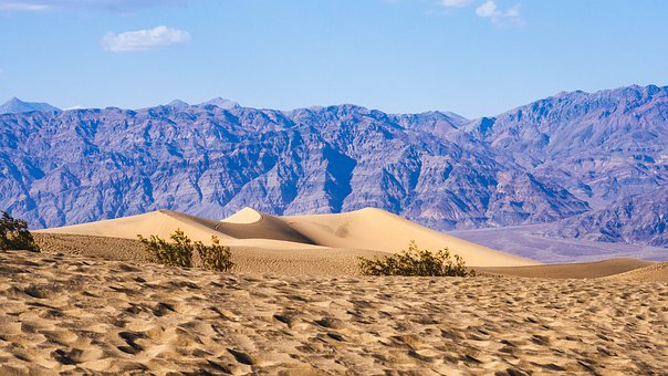 Death Valley, National Park, Desert, Dry, California