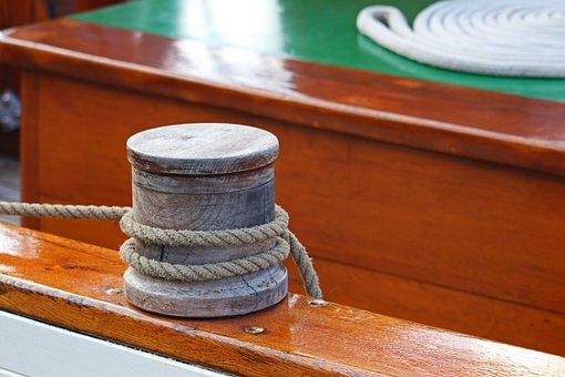 Sailing Boat, Mooring, Bollard, Maritime, Fix, Port