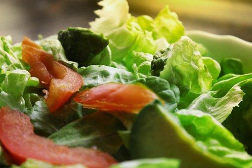 Salad, Summer, Tomato, Food, Vegetable, Power, Vitamin