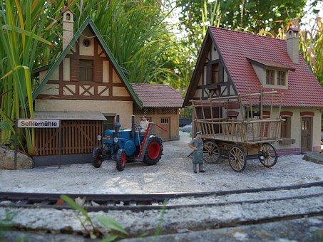 Model Train, Garden Railway, Lgb, Pola, Track G