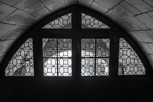 Archway, Window, Old, Castle, Imposing, Arch