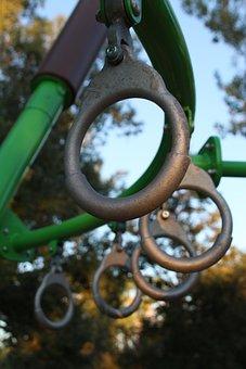 Monkey Bars, Park, Playground, Play, Fun